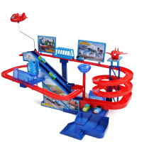 小火车套装轨道车儿童电动玩具火车轨道玩具赛车过山车男孩