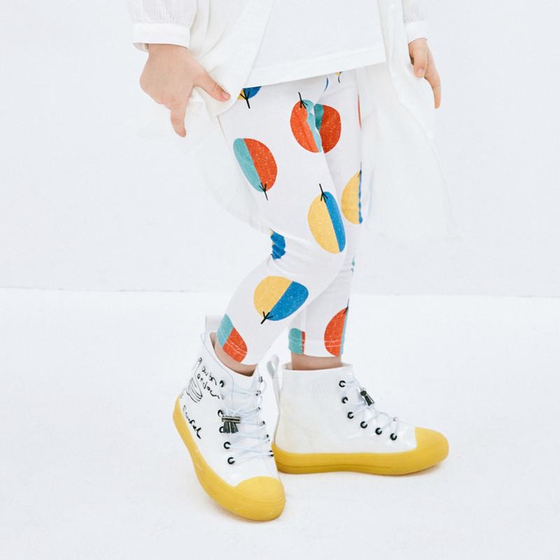 【满200减130】迷你巴拉巴拉女童打底裤2019夏装新款儿童女宝宝简约薄款裤子长裤