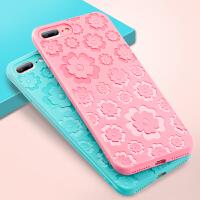 iPhone6s手机壳女款全包边雕花挂绳 苹果6s防摔套6plus硅胶软壳
