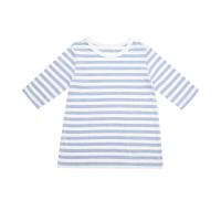 【8.20-8.26服装特惠】网易严选 薄棉条纹居家衫(女童)