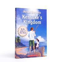 【全店300减100】英文原版小说 冬日的房间 健介的王国KENSUKE'S KINGDOM (TR/BF)冒险故事书课