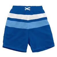 i play 儿童男士泳裤平角五分裤 婴儿宽松温泉泳衣潮款海边沙滩裤