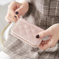 女式可爱零钱包小卡包钱包一体包女