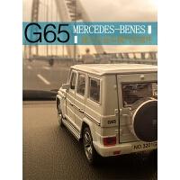 奔驰越野车模型汽车摆件G65高档金属车载车内饰品