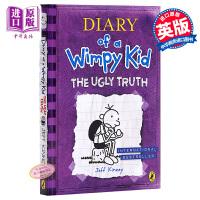 【中商原版】小屁孩日记5(英国版,平装)Diary of a Wimpy Kid#5 小屁孩日记 桥梁章节书 儿童文学