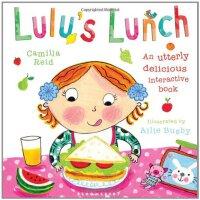 Lulu's Lunch 露露的午餐【英文原版童书 露露大明星系列、精装触摸操作书】