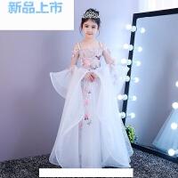 儿童礼服公主裙女童蓬蓬裙模特走秀舞台演出表演服春夏晚礼服