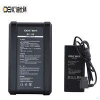 适用索尼V口电池迪比科BP-130摄像机V型口锂离子电池铁头BMCC供电