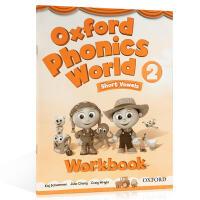 牛津自然拼读 Oxford Phonics World 2 Workbook 练习册 英文原版 Level 2级 自然