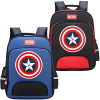 儿童书包小学生男孩1-3-4-6年级轻便护脊防水男双肩减负男童背包