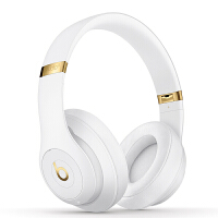 【����自�I】Beats Studio3 Wireless �音���o�3代 �^戴式 �{牙�o�降噪耳�C 游�蚨��C - 白色