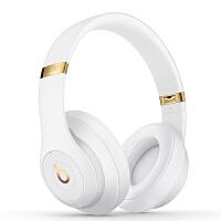 【当当自营】Beats Studio3 Wireless 录音师无线3代 头戴式 蓝牙无线降噪耳机 游戏耳机 - 白色