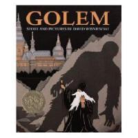 Golem 英文原版儿童书 1997年凯迪克金奖系列