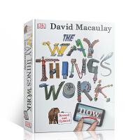 英文原版 The Way Things Work Now 万物运转的秘密 青少年的物理世界入门百科全书作者David Macaulay