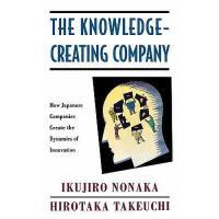 【预订】The Knowledge-Creating Company: How Japanese