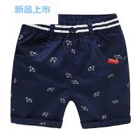 男童短裤子中裤五分裤2018夏装夏季童装宝宝小童3女2儿童1岁