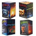 【顺丰包邮】猫武士一二三四部曲(全24册) Warriors Box Set 4盒全套装 英文原版小说预言开始 int