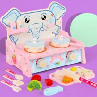 1-3-6岁男女孩儿童厨房玩具套装煮饭宝宝过家家仿真做饭玩具灶台