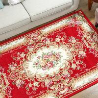 欧式地毯客厅茶几垫 卧室地毯床边长方形可机洗可定制