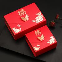 2018新款创意结婚喜糖盒纸盒中国风个性婚庆用品中式婚礼糖果礼盒