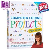 【中商原版】DK学编程 Computer Coding Projects For Kids 儿童编程 亲子教学 计算机编
