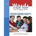 【预订】Words Their Way with Struggling Readers, Grades
