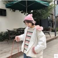 冬装新款韩版BF宽松学生原宿棉衣外套女短款保暖加厚连帽棉袄