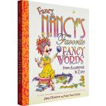 英文原版绘本 漂亮的南希 Fancy Nancy Favorite Fancy Words From Accessor