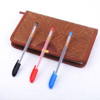 最炫中性笔0.5MM学生用黑笔办公文具用品碳素笔红色蓝色签字笔书写子弹头圆珠水笔练字水性笔学习用品
