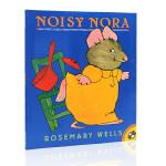英文原版进口绘本正版书籍 Noisy Nora吵闹的诺拉名家Rosemary Wells廖彩杏推荐书单第51本 儿童启