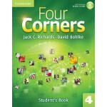 【预订】Four Corners Level 4 Student's Book with Self-Study CD-