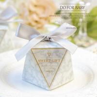 20180922182446827新钻石形结婚礼喜糖盒子个性创意结婚用品欧式礼品盒喜糖礼盒批发