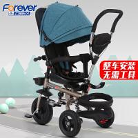 童车轻便婴儿手推车儿童三轮车脚踏车1-3-5-2-6岁大号宝宝