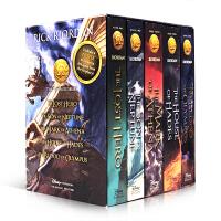 英文原版The Heroes of Olympus Paperback BoxedSet 5 Book Include