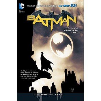 【现货】英文原版Batman Vol. 6: Graveyard Shift 蝙蝠侠卷6