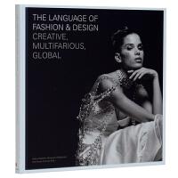 The Language of Fashion & Design 时尚与设计的语言:创意性,多样性,全球化 服装设计书