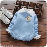 冬季一周半女童9毛衣10个月毛线衣0-1-2-3岁打底衫秋冬装女宝宝针织衫秋冬新款