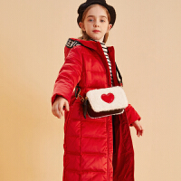 【2件3折:285.7】巴拉巴拉旗下巴帝巴帝女童时尚休闲羽绒服