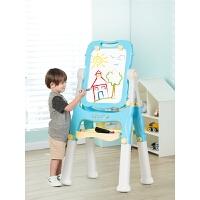 儿童支架式家用画板小黑板宝宝可升降写字板画架