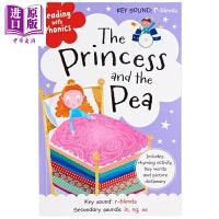 【中商原版】童话学语音:公主与豌豆 Reading with Phonics 童话故事 亲子英文 英语学习 语音学习 7