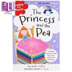 【中商原版】童话学语音:公主与豌豆 Reading with Phonics 童话故事 亲子英文 英语学习 语音学习