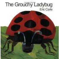 Eric Carle: Grouchy Ladybug 坏脾气瓢虫 ISBN9780064434508