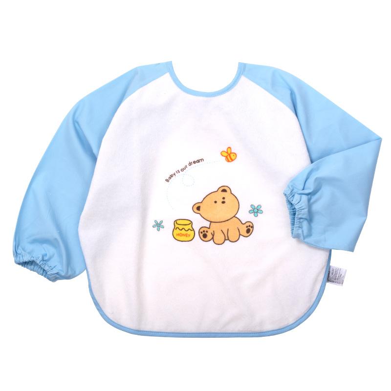 【当当自营】minimoto小米米 罩衣 2-3岁 粉蓝 YA03102B