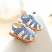夏季新款凉鞋学步鞋包头软底宝宝童鞋男女童凉鞋