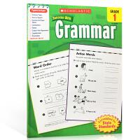 英文原版Scholastic Success With Grammar,Grade1 美国小学一年级语法练习册 附答案