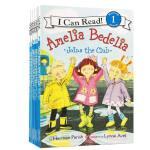 【顺丰包邮】英文原版 I Can Read Level 1 Amelia Bedelia 12册套装 糊涂女佣绘本童书