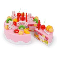 儿童过家家生日蛋糕玩具宝宝仿真厨房水果切切乐小女孩男孩3-6岁