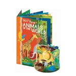 【正版直发】英文原版360 POP-UP ANIMALS OF THE WORLD动物世界 360度剧场立体书 Eng