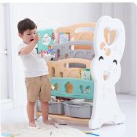 【限时直降3折】亲子韩版环保学习儿童书架 宝宝书架收纳架绘本图书柜
