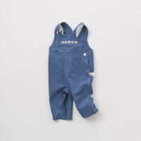 [2件3折价:98.1]戴维贝拉春季新款儿童背带裤 宝宝休闲长裤DBW9654